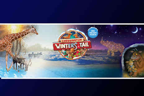 Chessington World of Adventures Resort - Twilight Christmas sleepover stay for a family of four with breakfast and Winters Tail Park day access or stay in a themed room - Save 35%