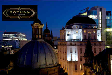Hotel Gotham - Childrens five course dinner on Christmas day with a soft drink or adults dinner with a glass of Champagne - Save 40%