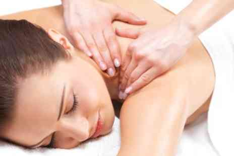 Oceanic Hair & Beauty - One Hour Full Body Swedish or Hot Stone Massage with Optional Facial - Save 47%