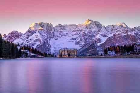 Grand Hotel Misurina - Four Star Family Friendly Hotel Overlooking the Lake - Save 80%