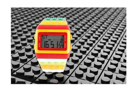 London Exchain Store - Retro building block watch - Save 80%