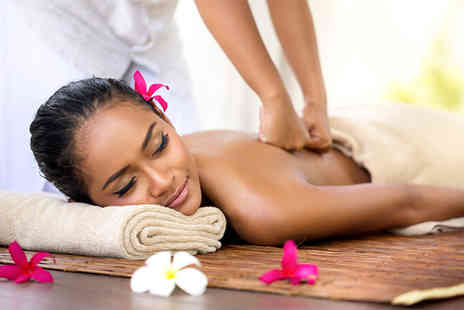 Cleopatra Beauty Spa - One hour pamper package including a 30 minute massage and a Decleor discovery facial - Save 71%