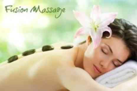 Fusion Massage - One Hour Full Body Hot Stone Massage - Save 64%