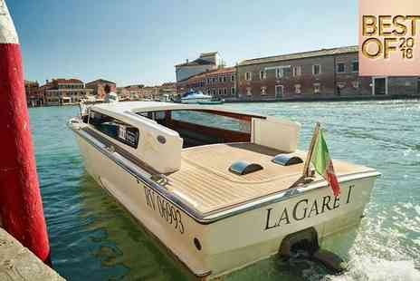 LaGare Hotel - Best of 2018, Sophisticated Hotel Stay For Two Overlooking Muranos Grand Canal - Save 76%