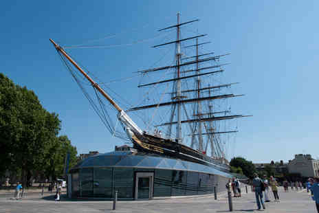 The Cutty Sark - Visit to the Cutty Sark and Prosecco Afternoon Tea for Two - Save 0%