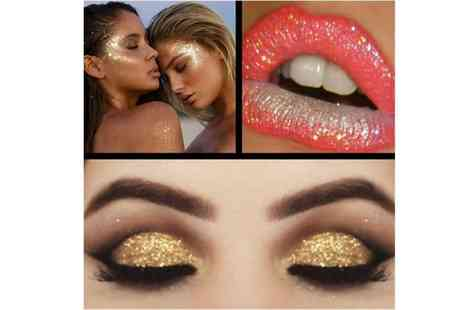 Get Gorgeous - Foil eyeshadow glitter gel choose from two colours - Save 71%