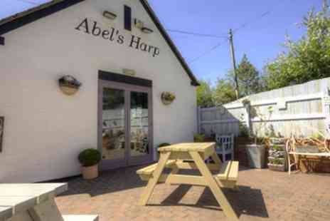 Abels Harp B&B - 1 or 2 Nights Stay for Two with Breakfast, Hot Tub Access and Optional Wine or Gin Afternoon Tea - Save 39%
