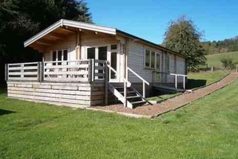 Long Mountain Centre In the Sticks - 2 or 3 Nights Log Cabin Stay for Up to Five with Optional Pony Trek - Save 0%