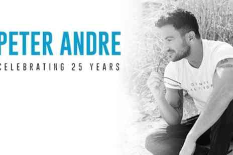 Peter Andre - Peter Andre Celebrating 25 Years Tour 2019 on 11 February To 13 March 2019 - Save 32%