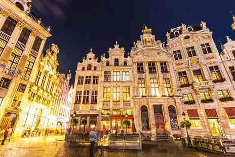 Hotel NH Brussels Grand Place Arenberg - Superb Location in City Centre for two - Save 71%