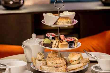 Hilton East Midlands Airport - Afternoon tea for two people with a glass of Prosecco each - Save 32%