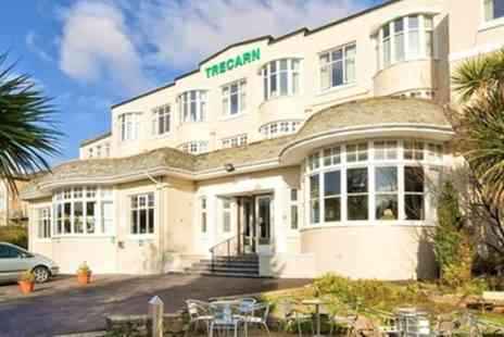 Trecarn Hotel - One or Two Night Stay for Two with Breakfast and Optional Dinner and Wine - Save 0%