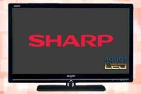 "PRC Direct - Sharp 42"" 1080p HD LED TV With One Year Warranty - Save 13%"