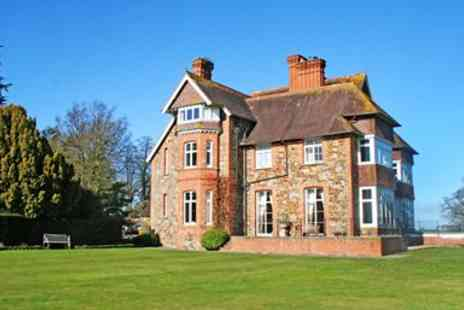 Highbullen Country House Hotel - Devon country manor stay with dinner - Save 38%