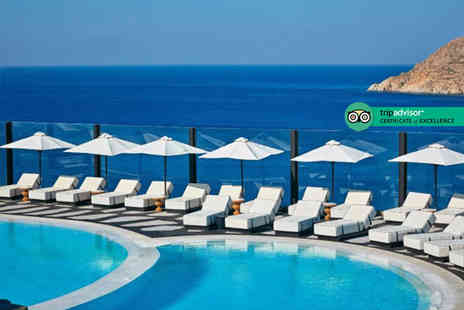 Super Escapes Travel - Three or Five night Mykonos holiday with breakfast, return airport transfers and return flights - Save 29%