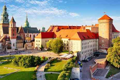 Super Escapes Travel - Two night Krakow getaway with return flights - Save 38%