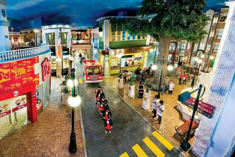 Just Book Sports - Standard entry admission to KidZania for an infant under 3 or child aged 3 to 16 or adult aged 17 plus - Save 50%