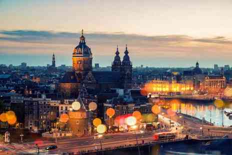 Super Escapes Travel - Two night central Amsterdam break with return flights - Save 25%