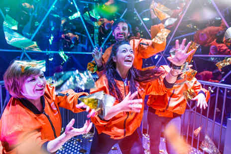Virgin Experience Days - The Crystal Maze LIVE Experience with Souvenir Crystal and T Shirt for Two - Save 0%