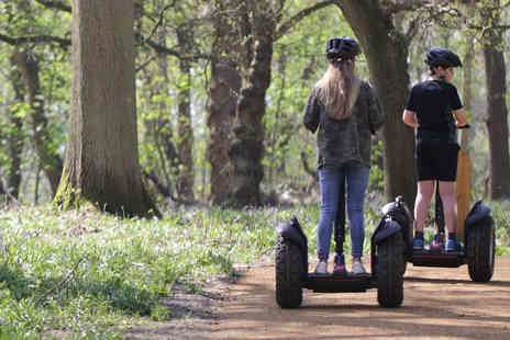 The Grove - Woodland Adventure Segway Experience for Two - Save 0%