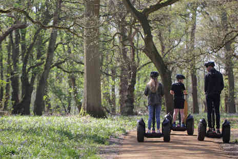 The Grove - Family Woodland Adventure Segway Experience - Save 0%