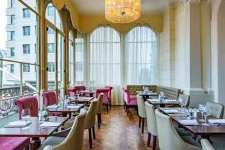 Amba Charing Cross Hotel - Three course dinner for 2 including bubbly on the Strand - Save 0%