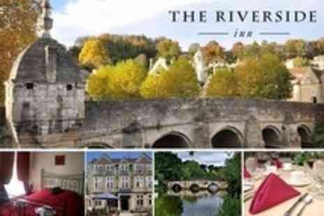 The Riverside Inn - In Bradford on Avon One Night Stay For Two With Cooked or Continental Breakfast - Save 54%