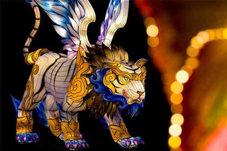 Edinburgh Zoo - One child ticket to Edinburgh Zoo Giant Lanterns of China Spectacular - Save 24%