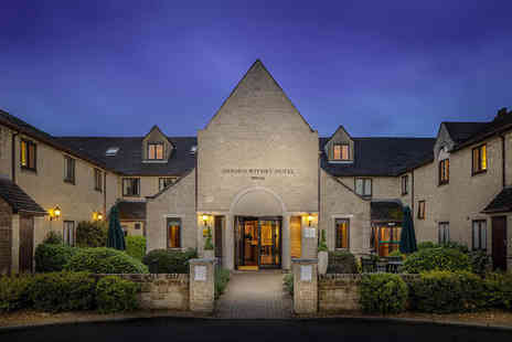 Oxford Witney Hotel - One or two night Witney, Oxfordshire stay for two people with dinner, breakfast and spa access - Save 31%