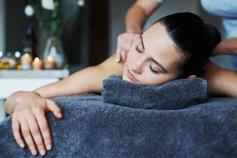 The BH Clinic - Back and Neck Massage with Dermalogica Mini Facial - Save 64%