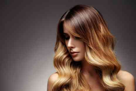 Aura Divine - Restyle and Conditioning with Optional Half Head Highlights - Save 64%