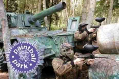 Paintball South - Paintballing For Twenty Plus 100 Paintballs and Light Lunch Each - Save 88%