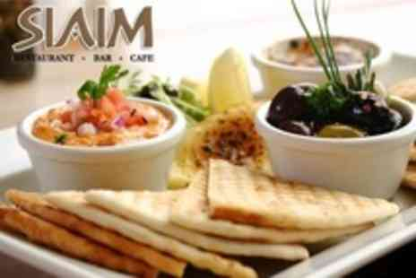 Siaim - Mediterranean Meal For Two Plus Bottle of Wine - Save 65%