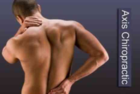 Axis Chiropractic - Two Chiropractic Treatments Plus Consultation and Report on Findings - Save 71%