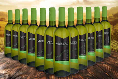 Q Regalo - 12 bottles of white Spanish wines - Save 73%