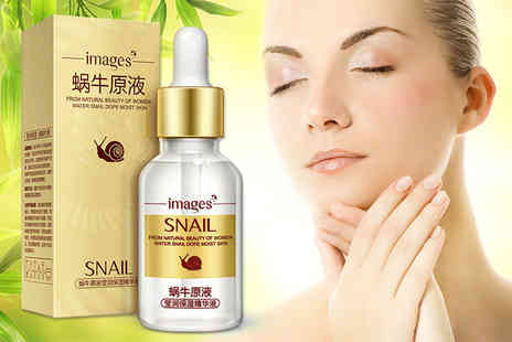 GetGorgeous - Snail extract and hyaluronic acid face serum - Save 65%