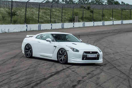 Supercar Drive Days - Three lap Nissan Gtr supercar experience or a BMW i8 supercar experience - Save 56%