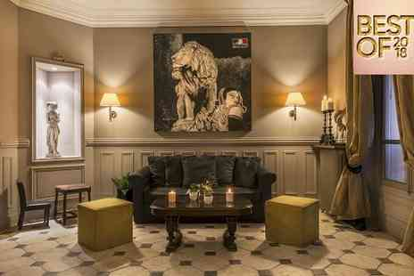 Hotel de la Porte Doree - Best of 2018, Three Star Stylish Retreat For Two in the City of Love - Save 64%