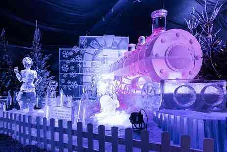 Ice Village - Entry for one person to Ice Village Manchester including a hot drink at the Ice Cavern - Save 33%