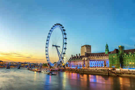 OMGhotels - Four Star one or two night London stay with breakfast, tickets to the London Eye and a River Thames cruise - Save 0%
