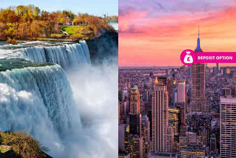 Weekender Breaks - Six night New York and Niagara Falls holiday with train transfer and return flights - Save 45%