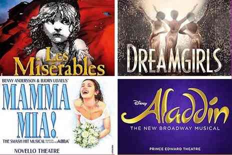 Just Book Sports - One or two night 4 Star London stay and top London theatre show - Save 0%