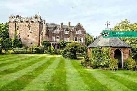 Comlongon Castle - One or two night stay for two people with full Scottish breakfast - Save 47%