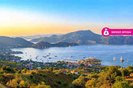 Bargain Late Holidays - Seven night all inclusive Marmaris beach holiday with return flights - Save 48%