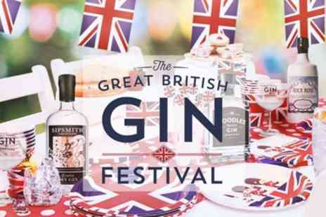 The Great British Gin Festival 2019 - One VIP ticket to The Great British Gin Festival on 2 February 2019 To 29 June 2019 - Save 50%