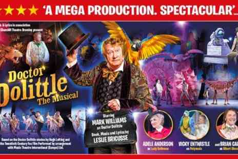 ATG Tickets - One best available Band A ticket to Dr Dolittle the Musicall on 15 To 24 January 2019 - Save 68%