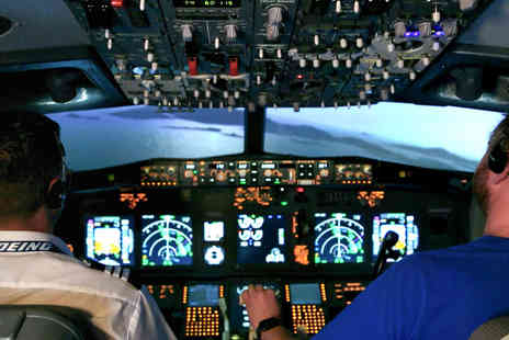 Virgin Experience Days - Flight Simulator Experience Aboard a Boeing 737, 120 minutes - Save 0%