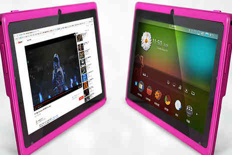 tecwizz - 7 Inch Dual Core Android Tablet With 12 Month Warranty Available in 3 Colours - Save 81%
