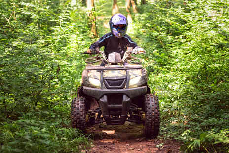 Adventure Now - 45 minute quad biking session for one or two - Save 41%