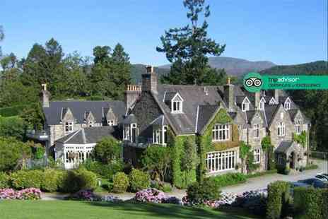 Penmaenuchaf Hall Hotel - One or two night Snowdonia stay for two with sparkling wine on arrival, breakfast and late check out - Save 39%